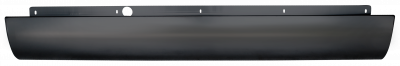 04-'11 CHEVROLET COLORADO REAR ROLL PAN WITHOUT LICENSE BRACKET