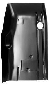 84-'01 JEEP CHEROKEE FRONT CAB FLOOR PAN, PASSENGER'S SIDE