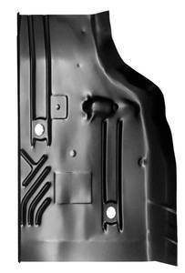84-'01 JEEP CHEROKEE REAR CAB FLOOR PAN, DRIVER'S SIDE