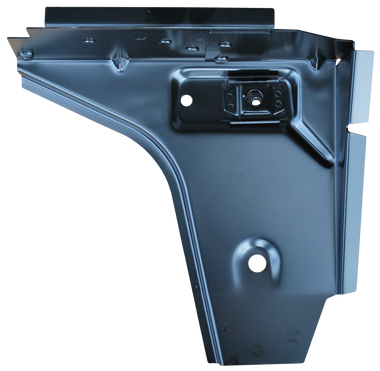 """'76-'95 CJ7 AND YJ WRANGLER FRONT FLOOR """"TOE BOARD"""" SUPPORTS, DRIVER'S SIDE"""