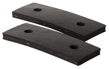 1955-1957 CHEVROLET/GMC TRUCK GMC CORE SUPPORT MOUNTING PADS (2)