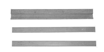 CJ7 - 1976-1986 - Jeep CJ-5 68-83 CJ-7 76-86 YJ Wrangler 87-96 Rear Floor Supports 3 piece set
