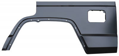 XJ Cherokee - 1984-2001 - 84-'01 JEEP CHEROKEE 4 DOOR REAR QUARTER PANEL SECTION, DRIVER,S SIDE