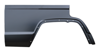 XJ Cherokee - 1984-2001 - 84-'01 JEEP CHEROKEE 4 DOOR REAR QUARTER PANEL SECTION, PASSENGER,S SIDE