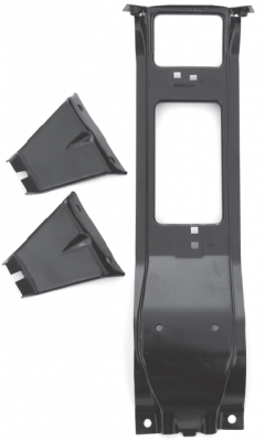 Pickup - 1973-1987 - 73-'74 CHEVROLET PICKUP C/K SERIES CENTER AND OUTER GRILLE BRACKET SET
