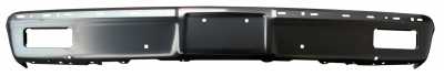 K5 Jimmy - 1973-1991 - 81-'82 CHEVROLET PICKUP FRONT BUMPER, PAINT TO MATCH, WITH MOLDING HOLES