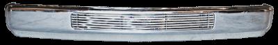 Pickup - 1988-1998 - 88-'98 CHEVROLET PICKUP CUSTOM FRT BUMPER, CHROME
