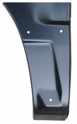 Avalanche - 2001-2006 - 02-'06 AVALANCE FRONT LOWER QUARTER PANEL SECTION, PASSENGER'S SIDE (W/CLADDING)