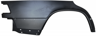 W201 - 1984-1993 - 84-'93 MERCEDES Z190 E/D LOWER REAR FENDER, PASSENGER'S SIDE