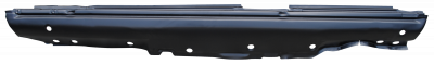 81-'91 MERCEDES W126 S-CLASS ROCKER PANEL (W/O SEL), DRIVER'S SIDE