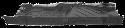 W123 - 1976-1986 - 76-'86 MERCEDES W123 FULL FLOOR PAN, PASSENGER'S SIDE