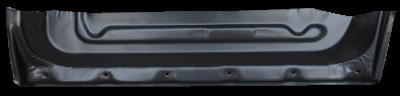 9000 - 1985-1998 - 85-'98 SAAB 9000 REAR INNER DOOR BOTTOM, DRIVER'S SIDE