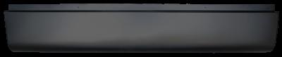 Silverado Pickup - 1999-2006 - 99-'06 CHEVROLET SILVERADO REAR ROLL PAN WITHOUT LICENSE BRACKET