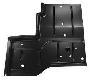 CJ7 - 1976-1986 - 76-'95 JEEP WRANGLER REAR FLOOR PAN, PASSENGER'S SIDE