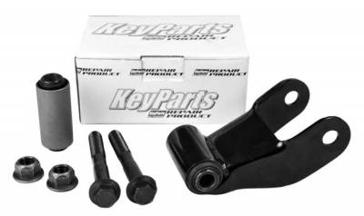 "B-Series Pickup - 1999-2006 - 86-'07 FORD F150 & RANGER/MAZDA 2.5"" REAR SPRING SHACKLE KIT"
