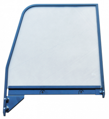 Pickup - 1955-1959 - '55-'59 CHEV/GMC WINDOW GLASS WITH PAINTED TRIM DRIVER'S SIDE