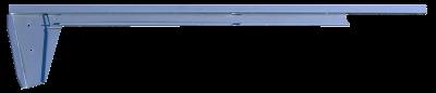 Pickup - 1967-1972 - '67-'72 CHEV/GMC TRUCK LOWER DOOR GLASS CHANNEL DRIVER'S SIDE