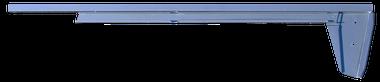 Pickup - 1967-1972 - '67-'72 CHEV/GMC TRUCK LOWER DOOR GLASS CHANNEL PASSENGER'S SIDE