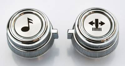 Pickup - 1973-1987 - 1981-1987 CHEVROLET/GMC P/U, SUBURBAN, BLAZER AM/FM AND AM/FM-CASSETTE RADIO KNOB SET (4PC)
