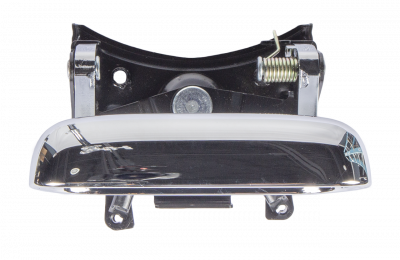99-06 CHEVROLET SILVERADO AND GMC SIERRA TAILGATE HANDLE, CHROME PLATED, ALSO FITS 07 CLASSIC AND 05-08 HUM H2*