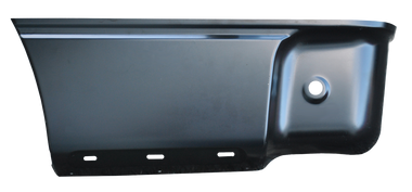 F150 Pickup - 2009-2014 - 09-'14 FORD F150 LOWER REAR BED SECTION, W/O MOLDING HOLES, DRIVER'S SIDE